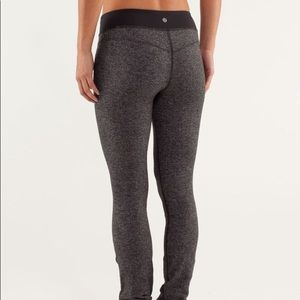"❤️SOLD❤️Lululemon Black and Grey Pants 30"" inseam"